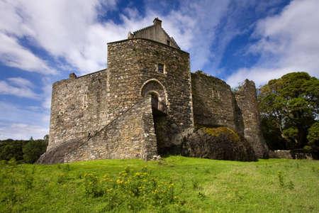 Dunstaffnage Castle on the north west coast of Scotland.