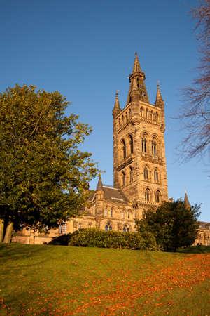 Glasgow University Main Building Editorial