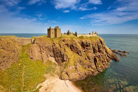 Dunnottar Castle, Aberdeenshire, Scotland photo