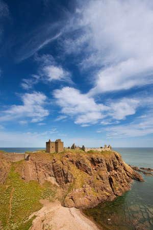 Dunnottar Castle, Aberdeenshire, Scotland Stock Photo