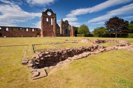 sacrosanct: Arbroath Abbey, Angus, Scotland
