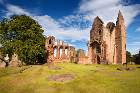 abbey: Arbroath Abbey, Angus, Scotland