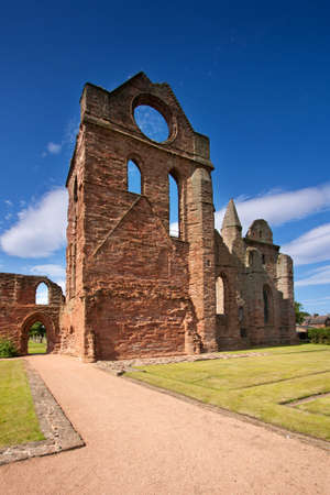 kirk: Arbroath Abbey, Angus, Scotland