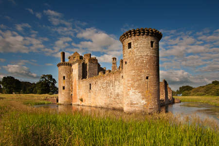 dumfries and galloway: Caerlaverock Castle, Dumfries and Galloway, Scotland