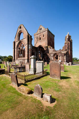 Sweetheart Abbey, Dumfries and Galloway, Scotland photo