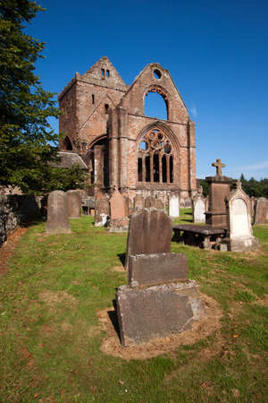 sacramental: Sweetheart Abbey, Dumfries and Galloway, Scotland Stock Photo