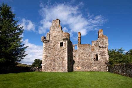 jacobite: Glenbuchat Castle, Aberdeenshire, Scotland