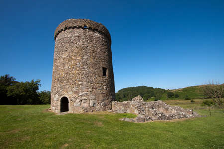 ruination: Orchardton Castle, Dumfries and Galloway, Scotland