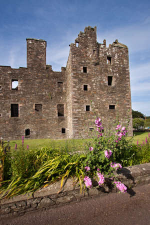dumfries and galloway: MacLellan's Castle, Kirkcudbright, Scotland Editorial