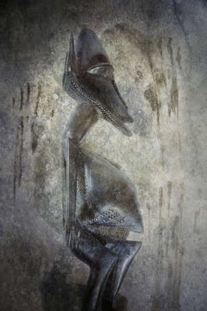 African Figure Sculpture photo