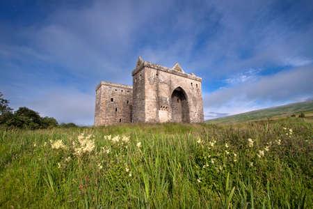 ruination: Hermitage Castle, Scottish Borders