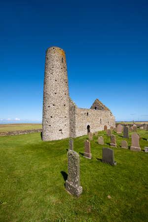 St Magnus Church, Isle of Egilsay, Orkney, Scotland