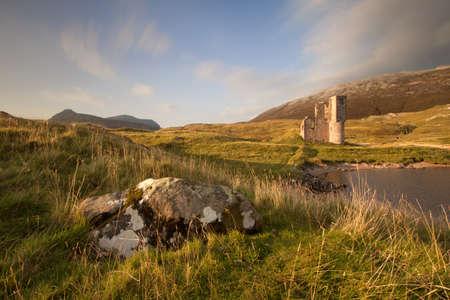 Ardvreck Castle, Sutherland, Scotland Publikacyjne