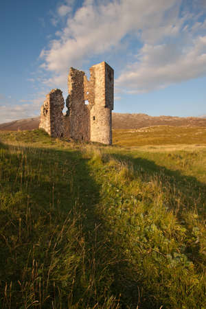 ruination: Ardvreck Castle, Sutherland, Scotland Editorial