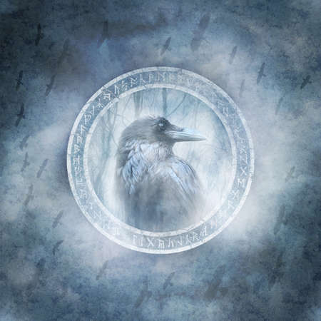 Pagan Raven Spirit