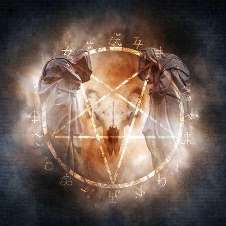 carnero: Negro magia ritual