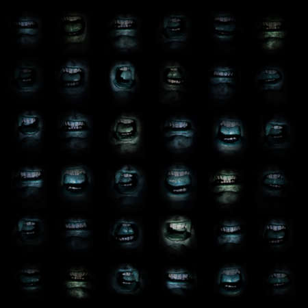 ghoulish: Wall of Mouths