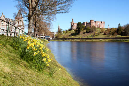 highland: Inverness Castle and River Ness, Scotland