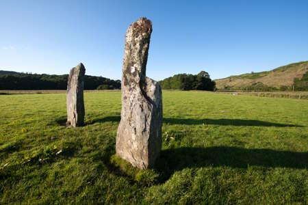 nether: Nether Largie Standing Stones, Kilmartin Glen, Scotland