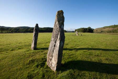 Nether Largie Standing Stones, Kilmartin Glen, Scotland