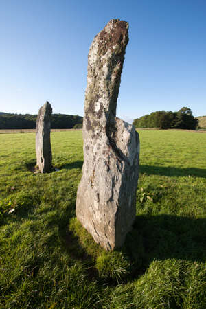 glen: Nether Largie Standing Stones, Kilmartin Glen, Scotland