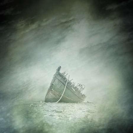 wreck: Abandoned Boat Wreck