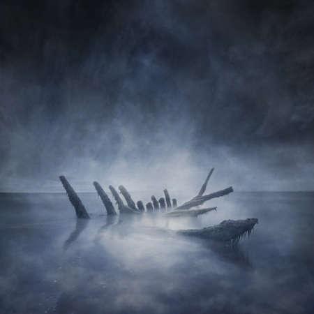 atmosfera: Barco hundido Restos