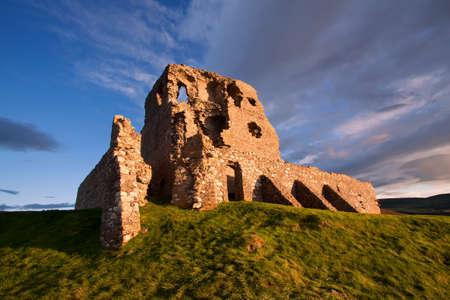 Auchindoun Castle, Dufftown, Moray, Scotland