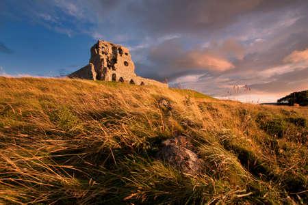 dilapidation: Auchindoun Castle, Dufftown, Moray, Scotland