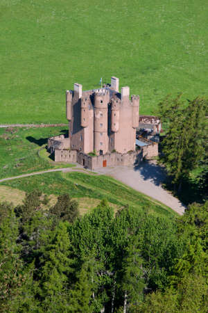 Braemar Castle, Aberdeenshire, Scotland Editorial