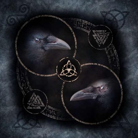 Celtic Crow Circle