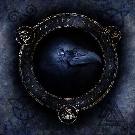 ケルトのワタリガラスの呪文