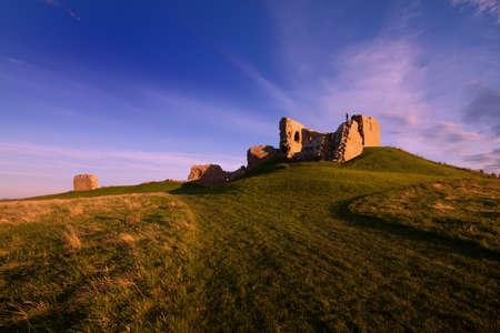 Duffus Castle, Elgin, Moray, Scotland Editorial