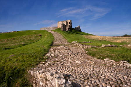 Duffus Castle, Elgin, Moray, Scotland Editorial