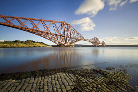 The Forth Rail Bridge, Firth of Forth, Edinburgh, Scotland Stock Photo