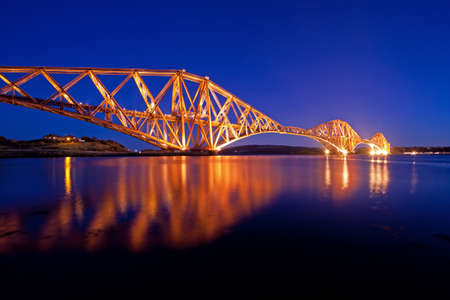 The Forth Rail Bridge, Firth of Forth, Edinburgh, Scotland Stock Photo