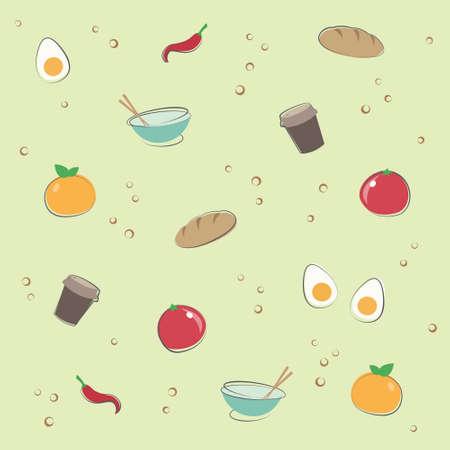 banana bread: Wallpaper Fruit Design