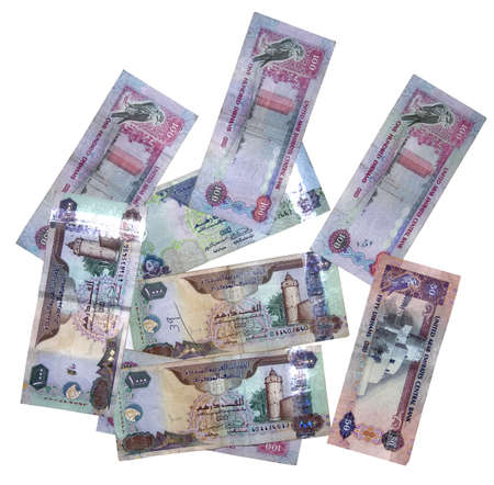 Here are the different currency of United Arab Emirates, you can find 1000, 500, 100 and 50 notes