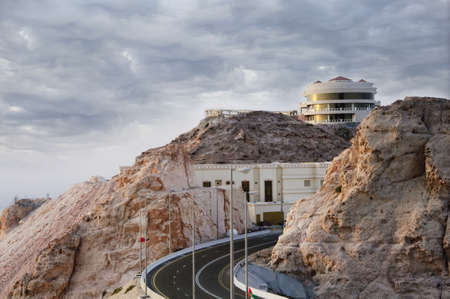 Jebel Hafeet is a mountain primarily in the United Arab Emirates on the outskirts of Al Ain. The mountain rises 1240 meters and offers an impressive view over the city. Jebel Hafeet was a well-known landmark throughout the areas history and is a contempo