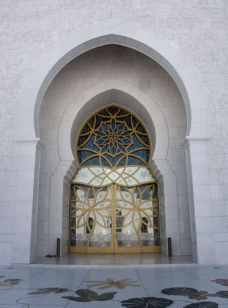Sheikh Zayed Grand Mosque in Abu Dhabi is the largest mosque in the United Arab Emirates and the eighth largest mosque in the world.