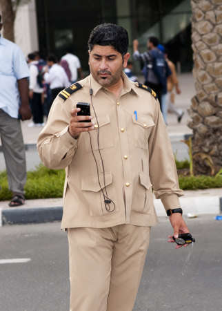 DUBAI - UAE - APRIL 06 2012: Unidentified Dubai Govt Official during the