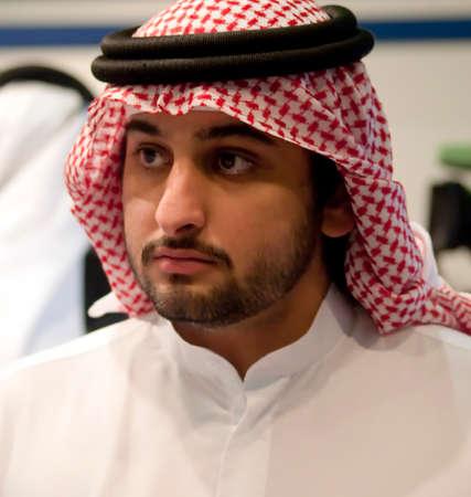 mohammed: DUBAI - UAE - APRIL 12 2012: Sheikh Maktoum Bin Mohammed Bin Rashid Al Maktoum, Deputy ruler of Dubai during Islamic Peace Conference, on April 12 in Dubai Editorial