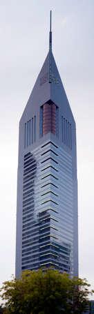 One of the Emirates tower in Dubai, United Arab Emirates.