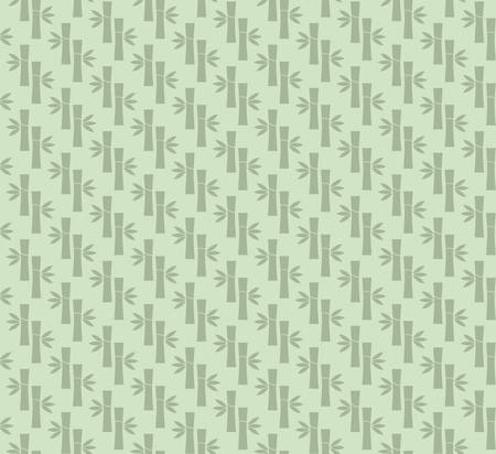 zenlike: Seamless vector pattern with bamboo trunks and leafs silhouettes. Stylized bamboo foliage background for massage or spa themed designs, oriental motifs. Illustration