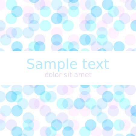copyspace: Pastel spring abstract background with copyspace for your text. Illustration
