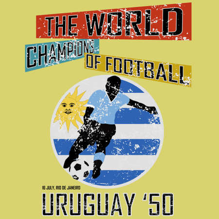 Grunge style world football theme vol 4, vector Vector
