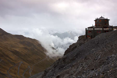 monastery nature: Tibet or just italy