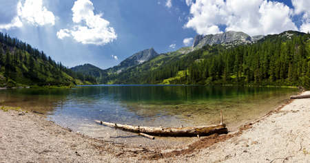 The Steirersee  Lake Styria  is a mountain lake of Tauplitzalm in Austria and surrounded by natural forest