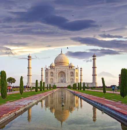 Taj Mahal - Agra, Uttar Pradesh, India photo