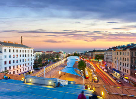 implemented: The new City Library and the new design of the Urban-Loritz-square were implemented in the last urban renewal project  The City Library is located above a subway station on the so called Belt-Street, one of the main traffic artery of Vienna with high traf